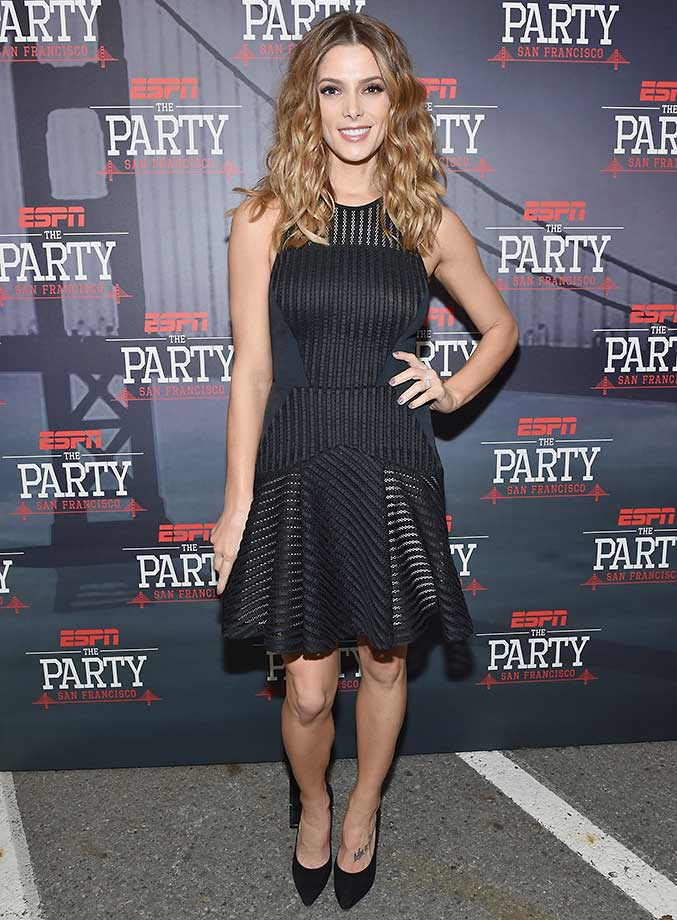 Actress Ashley Greene :: ESPN The Party