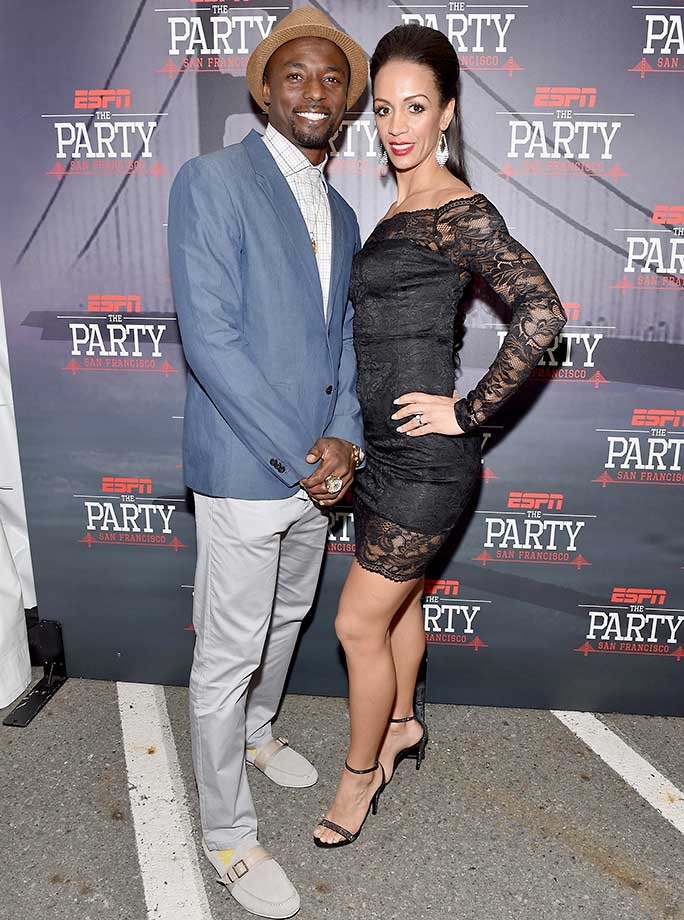Santonio Holmes and guest :: ESPN The Party