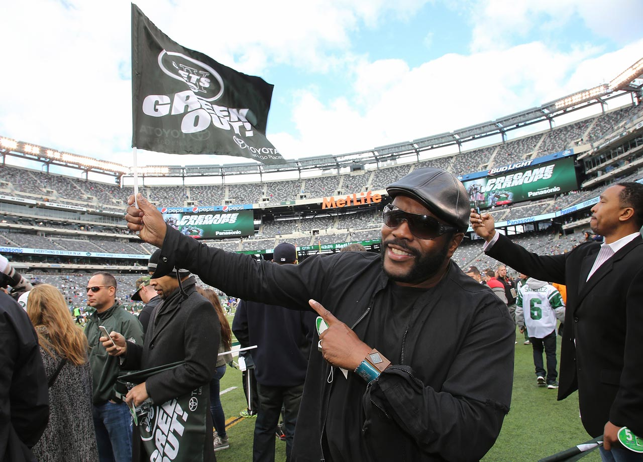 New York Jets vs. Buffalo Bills on Oct. 26, 2014 at MetLife Stadium in East Rutherford, N.J.