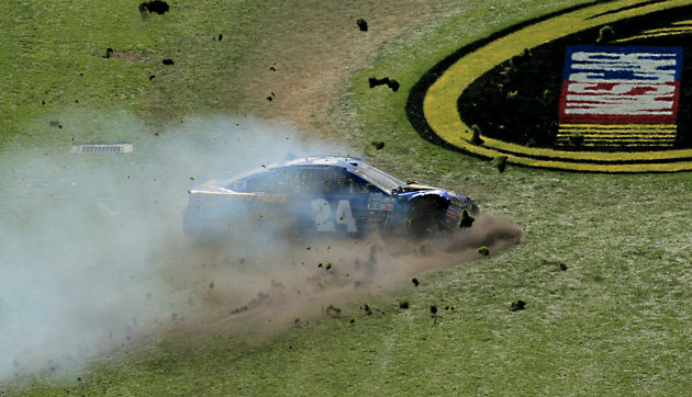 Chase Elliott's day comes to an unfortunate, early end.