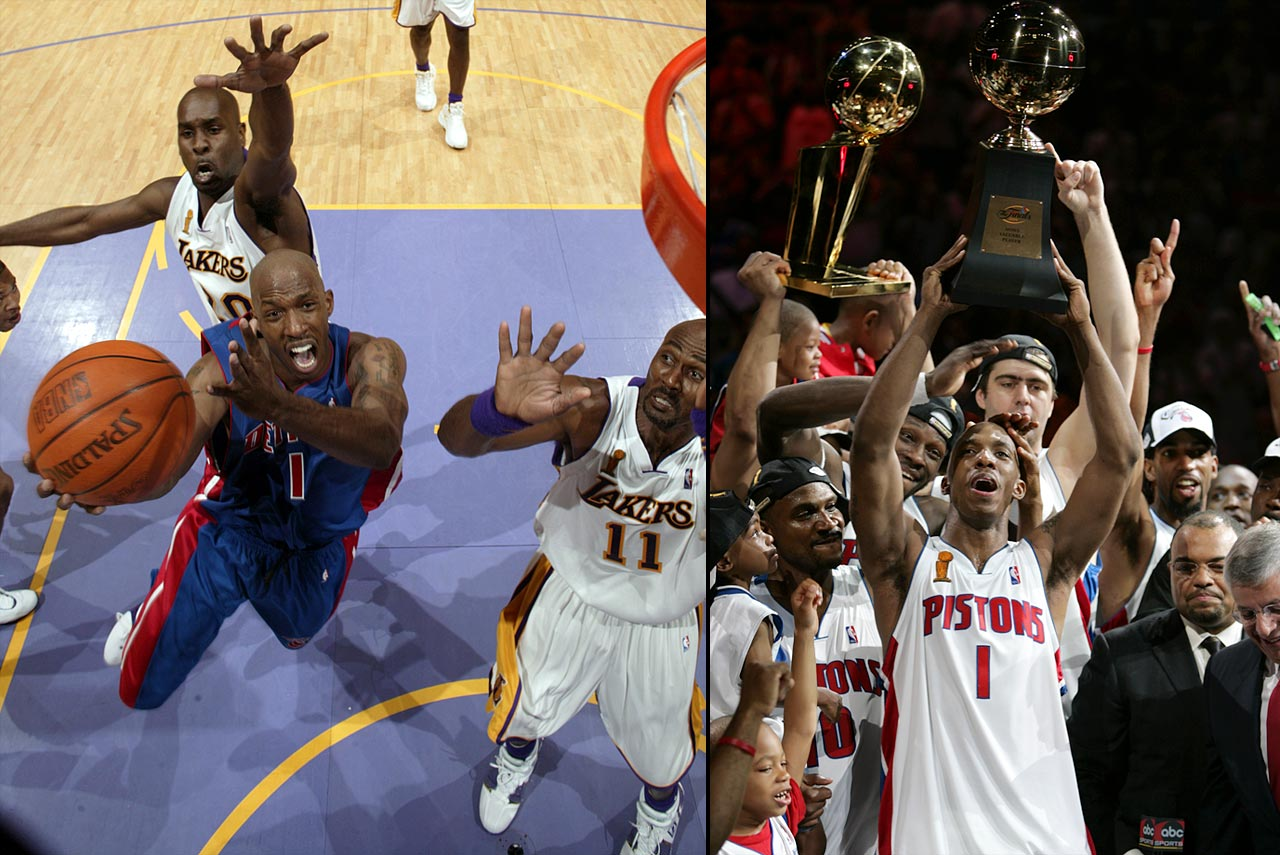 Five-time All-Star point guard Chauncey Billups, who became the 2004 NBA Finals MVP for the Pistons' title run, announced his retirement on Sept. 9, saying ''it's just time.'' Billups battled chronic knee issues throughout his career and said that he knew it's time to hang it up because he can't play at that level anymore.