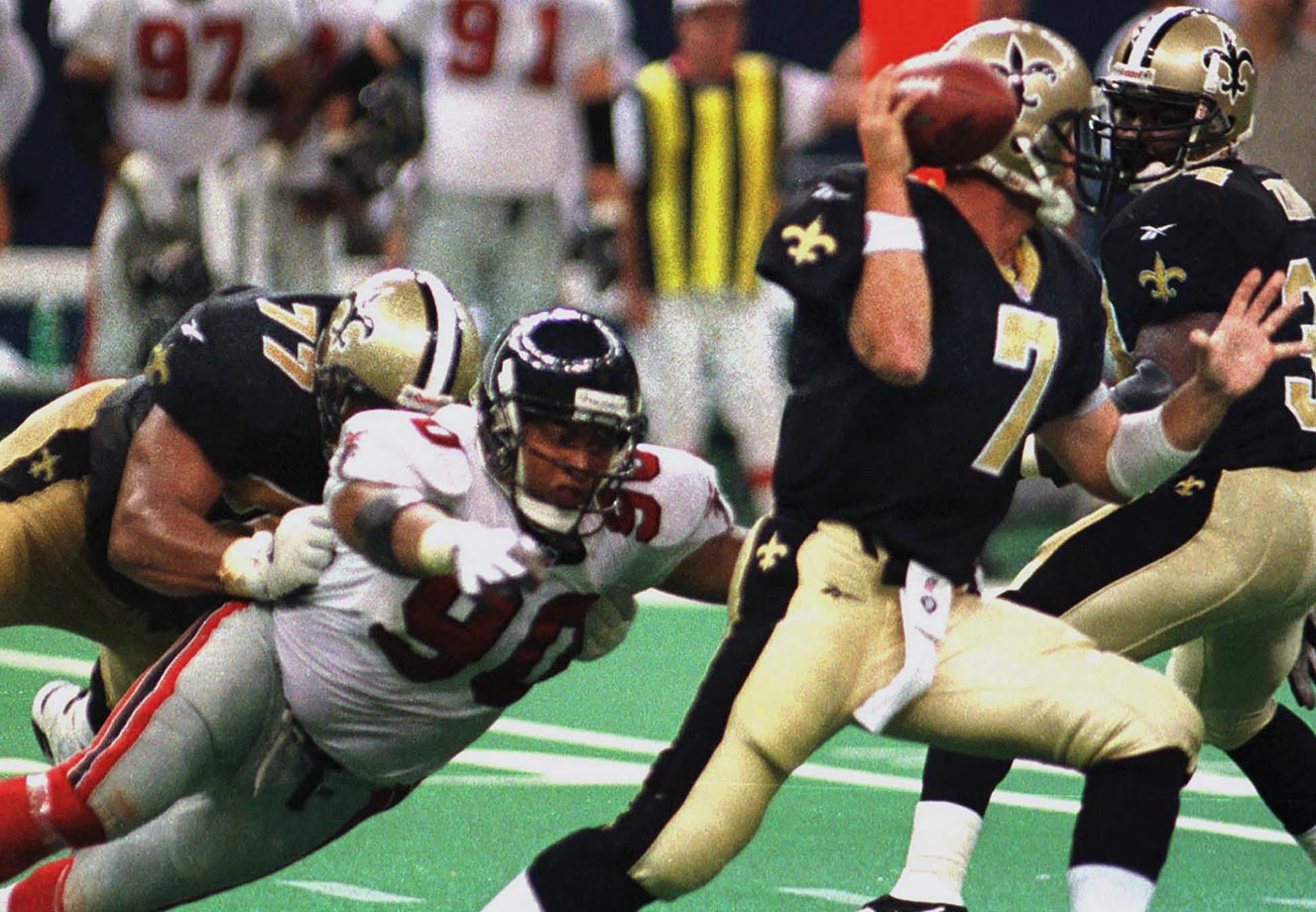 October 12, 1997 — Atlanta Falcons vs. New Orleans Saints