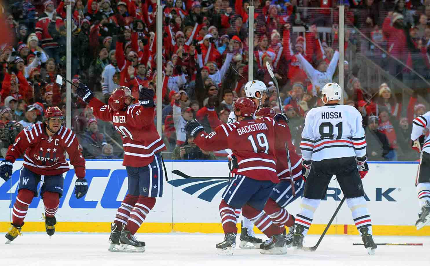 With 12.9 seconds left in regulation, Troy Brouwer delivered the game-winning goal for the Capitals. The ending was even more special as Brouwer's father, who had been recovering from a stroke, attended the game—the first time he had seen his son play in Washington.