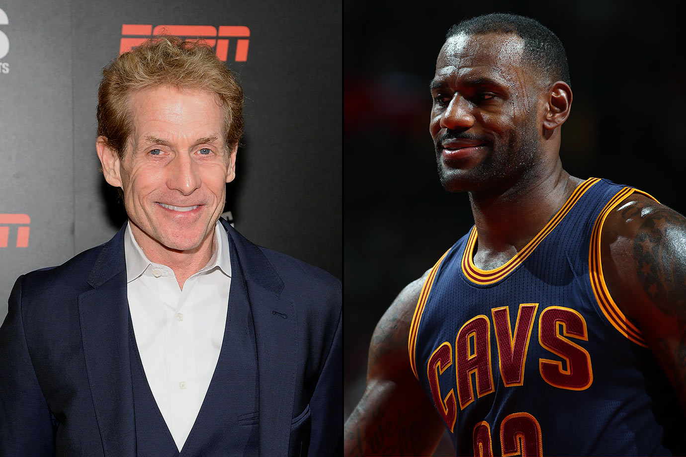 Skip Bayless will make sure this team never wins the Finals, and he does not seem like the kind of person you want to make an enemy out of.