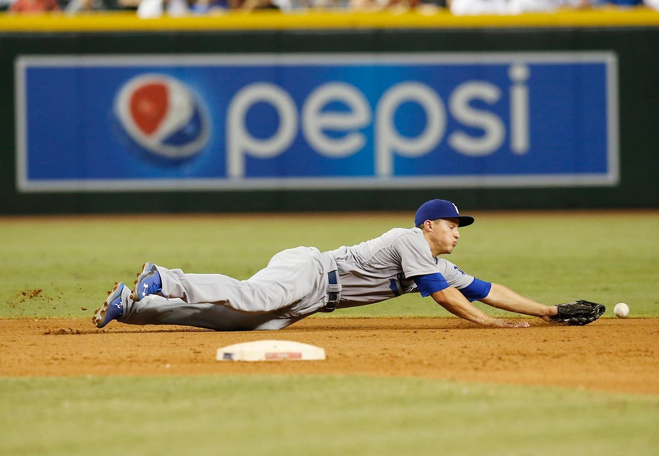 Corey Seager, Sept. 11, 2015.