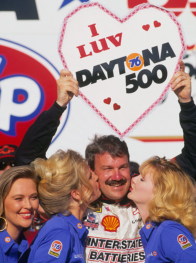 It was Dale versus Dale at Daytona International Speedway, with Dale Jarrett edging out Dale Earnhardt for the win in the final lap.