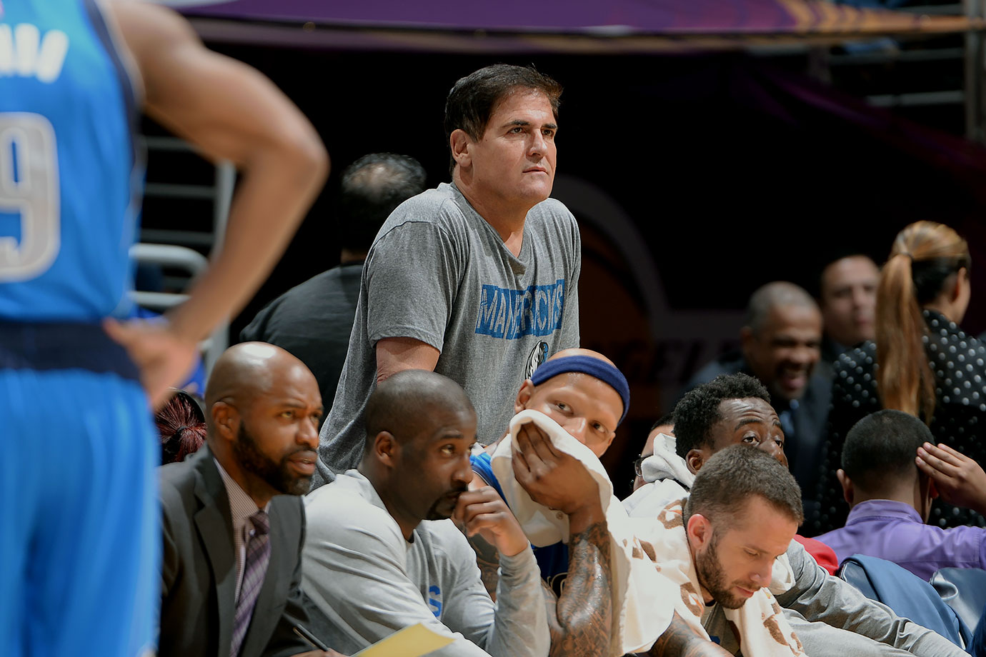 Team communication will be non-existent when Mark Cuban forces every player to use Cyber Dust, and eventually their playoff hopes will disappear into thin air too.