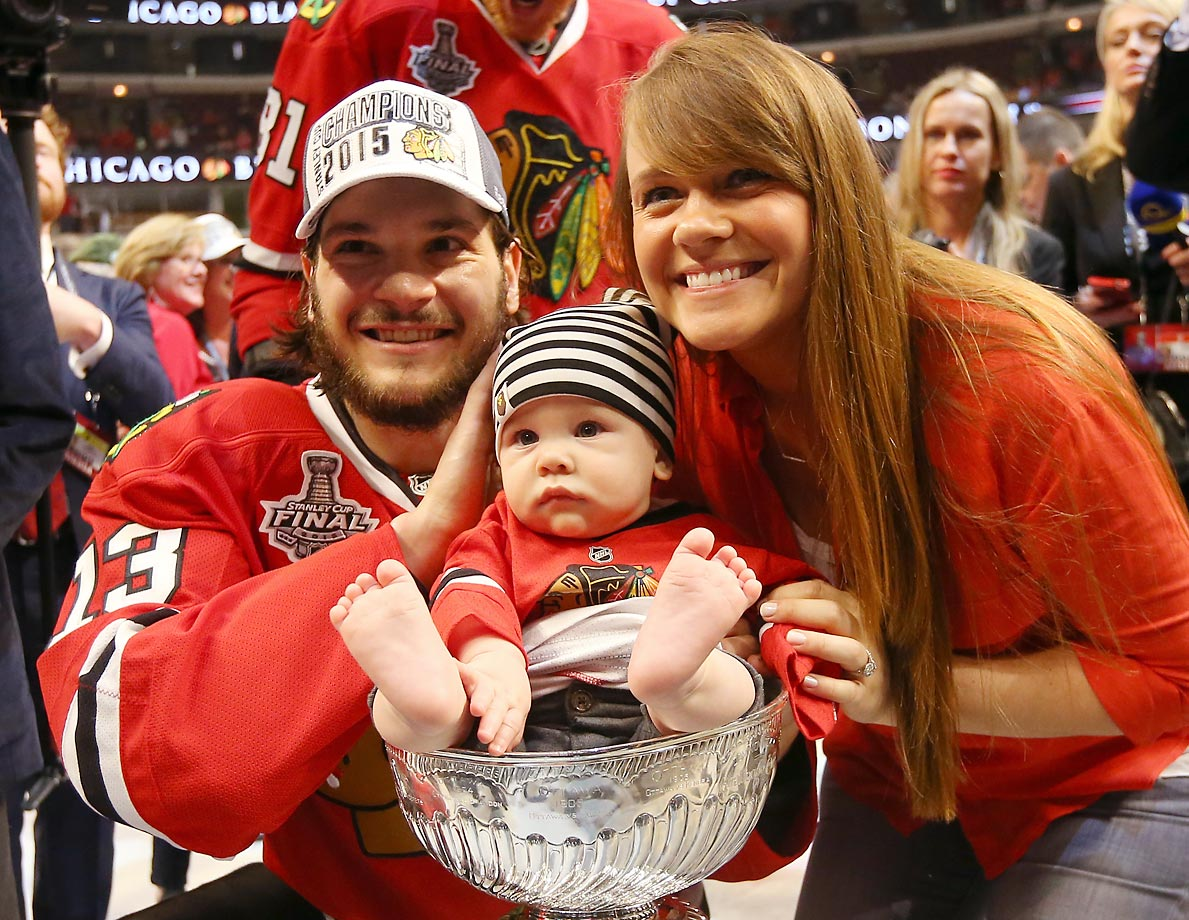 Son of Chicago Blackhawks left wing Daniel Carcillo.