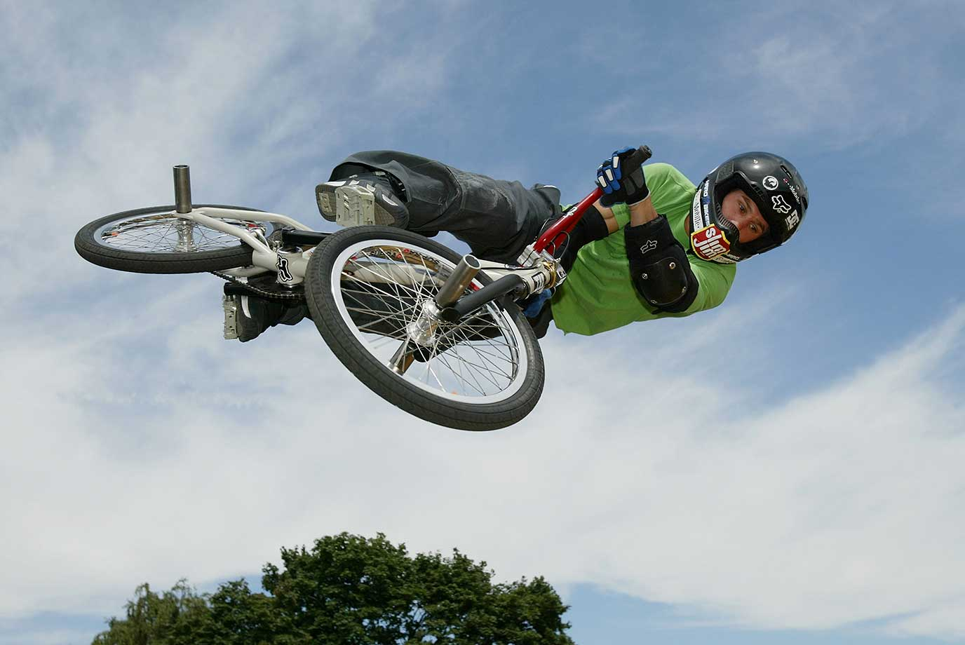 Dave Mirra at Randalls Island in New York City in 2003.