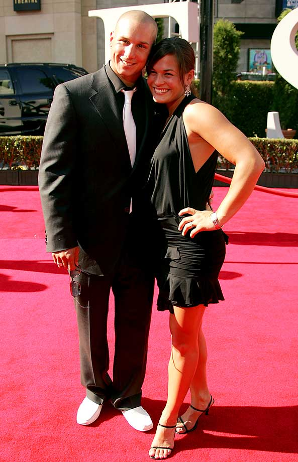 Dave Mirra arrives at the 13th Annual ESPY Awards at the Kodak Theatre on July 13, 2005 in Hollywood.