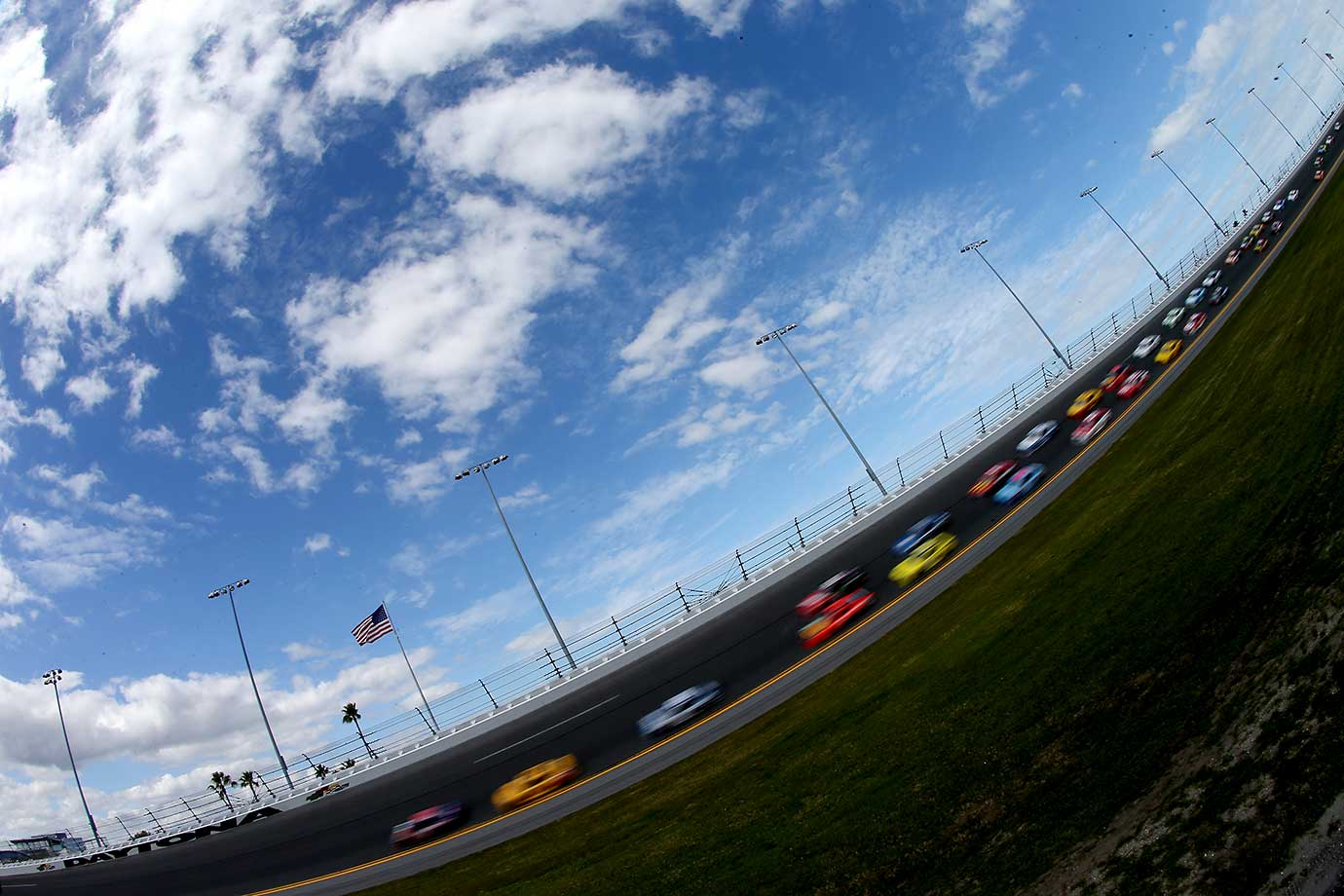 The weather was great for this year's Daytona 500.