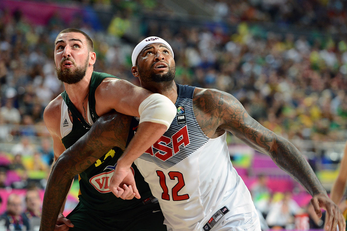 One major downside to Spain flaming out in the quarterfinals of the 2014 World Cup: Colangelo and company were robbed of the opportunity to see how Cousins fared head-to-head against bigs Marc and Pau Gasol, and to examine how Sacramento's famously moody All-Star held up under the extra scrutiny attention the matchup surely would have generated. Regardless, the 24-year-old Cousins is a natural pick to make the trek to Rio given his overall talent level and his comfort tracking his man from the rim to the elbow. SI.com would select Cousins with one of its final two roster spots unless Dwight Howard proves to be 100% healthy and back to Defensive Player of the Year type form.