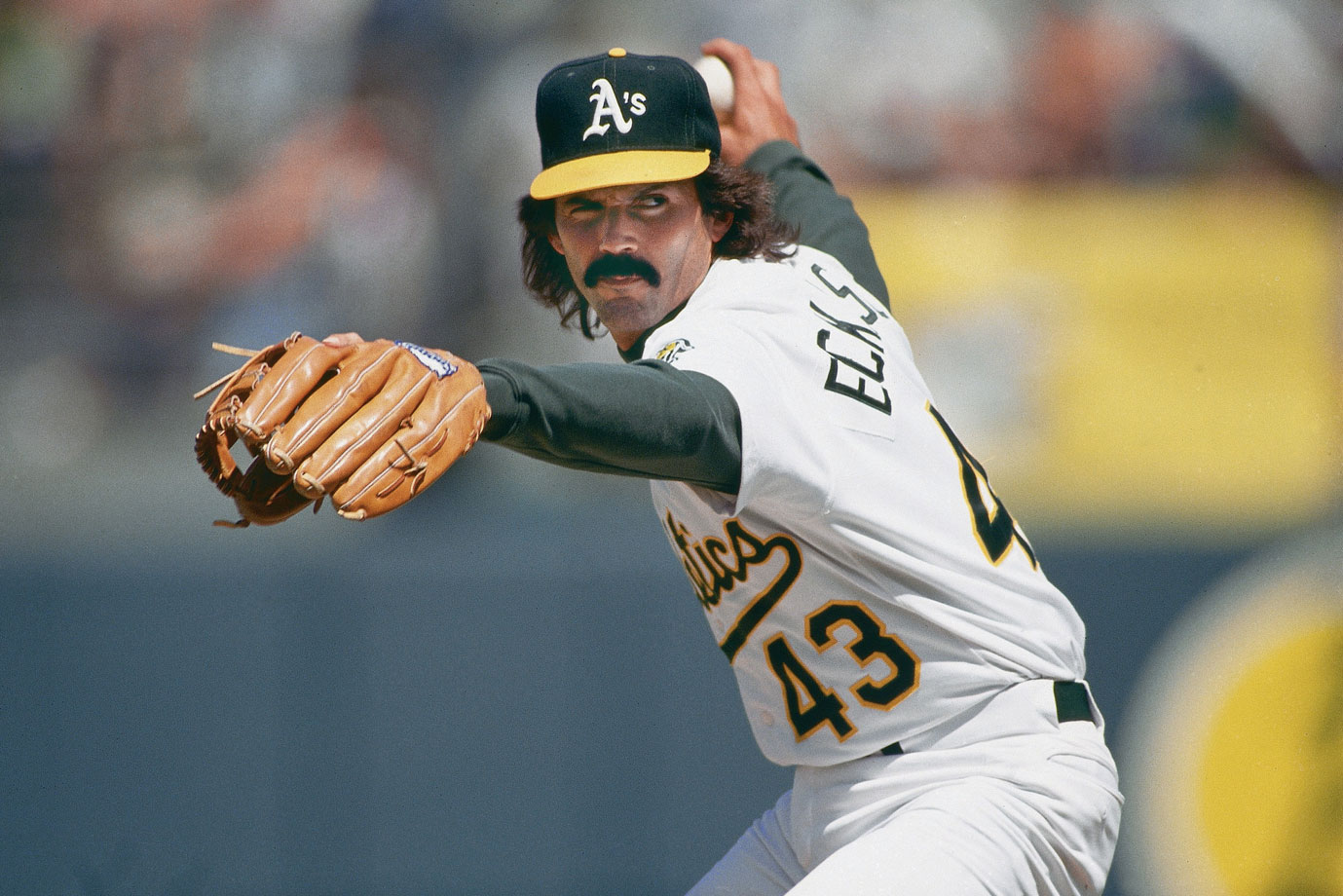 Dennis Eckersley won 20 games as a starter for the Red Sox in 1978, but a 1987 trade to the Athletics jump-started his career as a reliever. From 1988-1993, he saved no fewer than 33 games and led the league in 1988 (45) and 1992 (51). The six-time All-Star won the MVP and Cy Young awards in 1992.