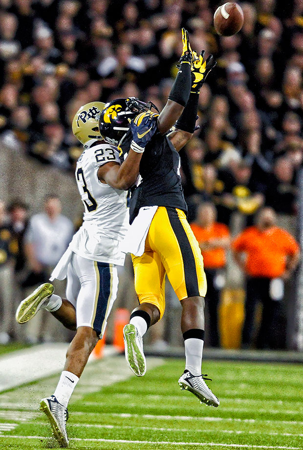 The cornerback delighted Iowa fans by announcing he would return for his senior year after reigning in eight interceptions (second most in the FBS) and winning the Jim Thorpe Award during his junior campaign. His dominant 2015 season earned him consensus All-America honors in addition to a first-team all-Big Ten selection.