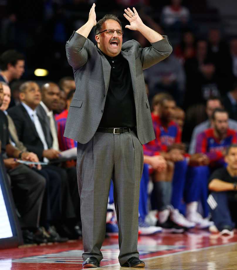Stan Van Gundy's behind the wheel…some assembly required.
