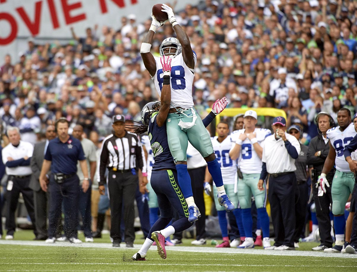 Bryant staked his claim to the title of the league's best receiver in 2014, and it was a compelling case. He led the league in receiving touchdowns with 16, caught 51 more passes than any other receiver on his team and there's no receiver in the league right now who's more dangerous when making contested catches.  The five-year, $70 million contract extension he signed in July 2015 could turn out to be a bargain in the long run.