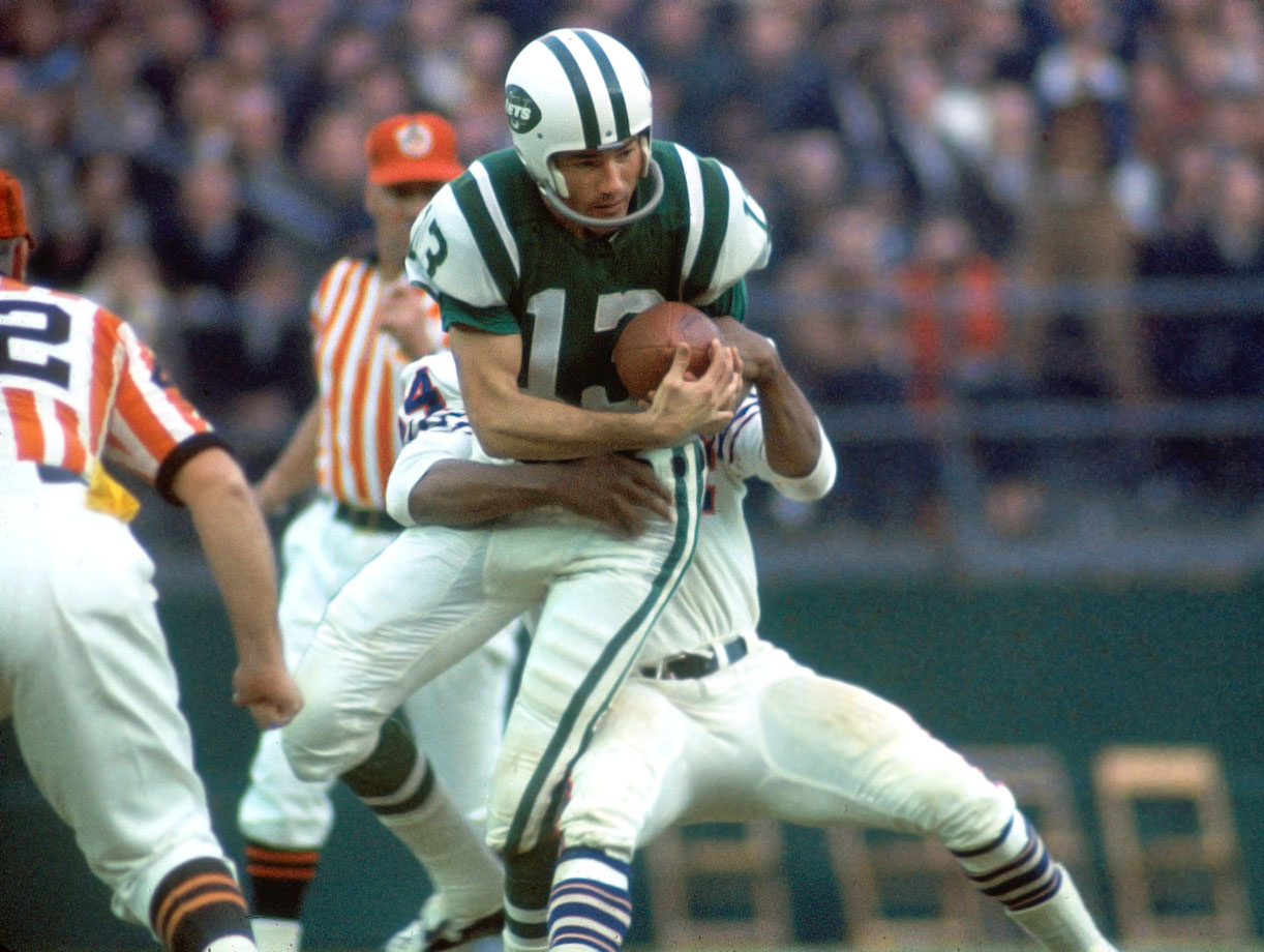 The sure-handed receiver and a favorite of quarterback Joe Namath, Maynard was a five-time AFL All-Star and retired with 633 receptions for 11,834 yards and 88 touchdowns.