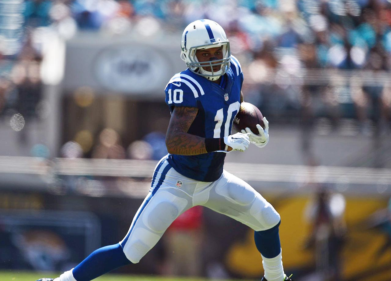Moncrief caught 32 passes for 444 yards and three touchdowns in his rookie season, and head coach Chuck Pagano has said that he's the right kind of big receiver to get a major upturn in touches in his second season. Don't be surprised if Moncrief starts taking over a few games in 2015.