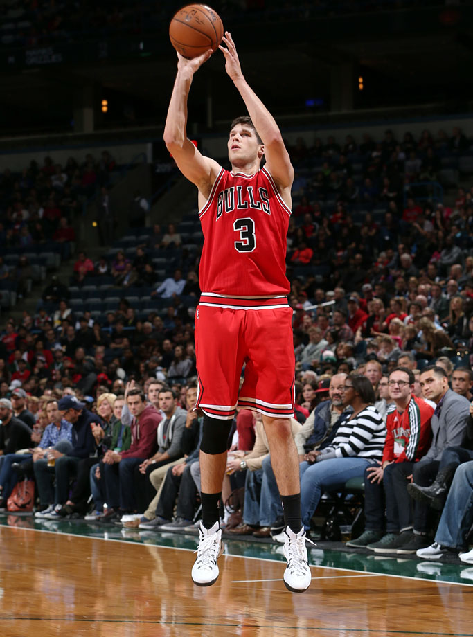 It's tough to project how much playing time McDermott will receive in his first season on a team whose coach plays a demanding defensive scheme; that returns most of their key contributors from last year; added Nikola Mirotic and Pau Gasol and has star point guard Derrick Rose returning from injury. Yet it's not hard to see the Bulls turning to McDermott – who led the nation in scoring at Creighton last year and is one of the best three-point shooters in this class – to spark a late run or help snap a cold shooting spell. Chicago ranked No. 26 in the league in three-pointers made and No. 27 in offensive efficiency last season. McDermott can help nudge those figures in the right direction.