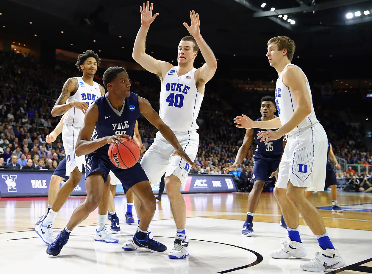 The Blue Devils face the same defensive issues as Oregon, only their defense is even worse. Could it really stand up to consecutive games against the Ducks, Sooners and Jayhawks? They might be able to get through one or two of those games, but not all three.