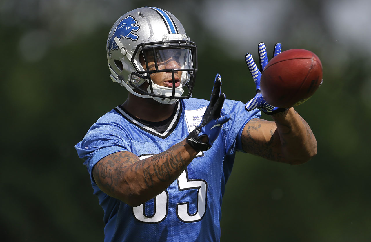 The Lions turned heads when they selected Ebron No. 10 overall in May's Draft. It might take a season or two for the UNC product to reach his potential, but Ebron is an elite fantasy TE in the making. He's been compared to Jimmy Graham and has the skillset to live up to his lofty expectations.