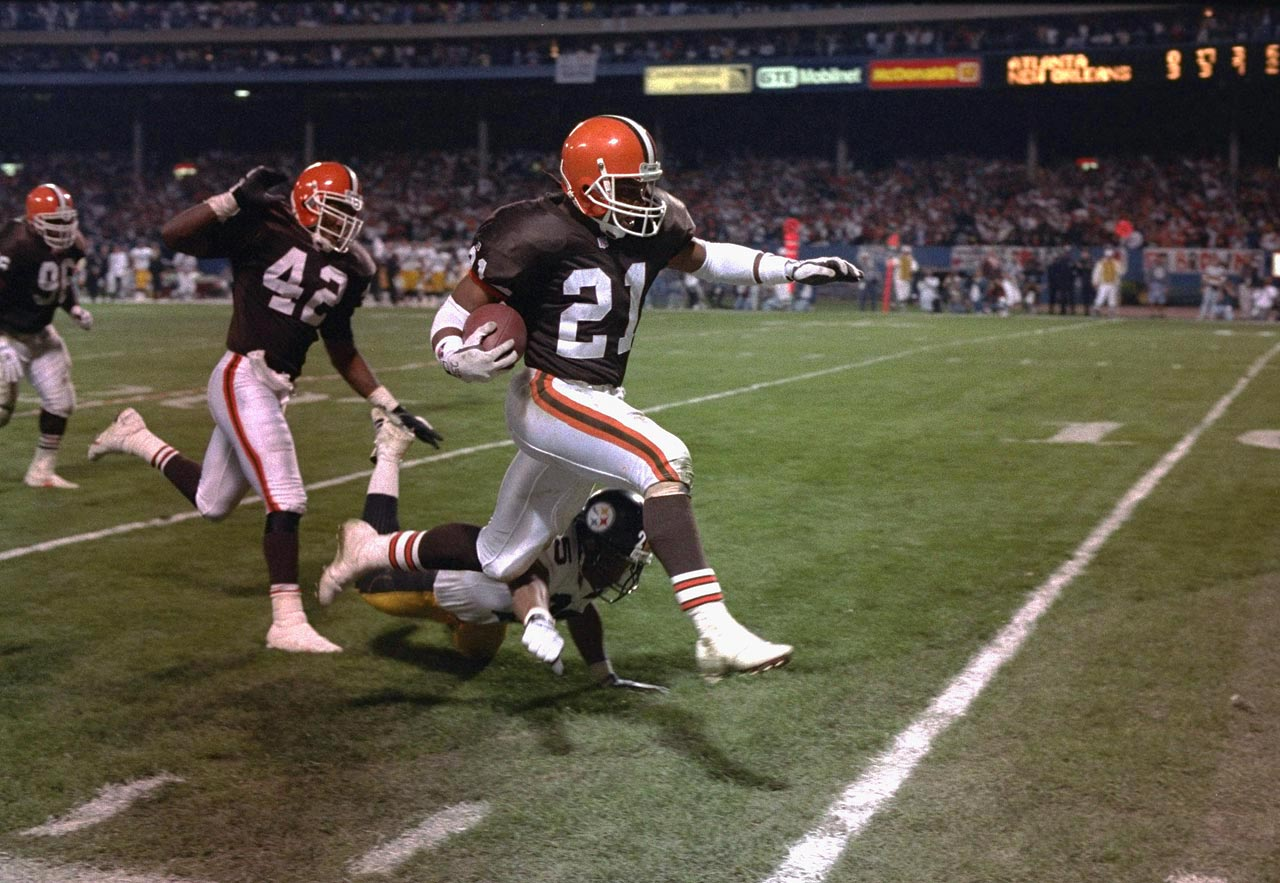 The former first-round pick and three-time Pro Bowl pick was a running back, receiver and return specialist during his 13-year NFL career.