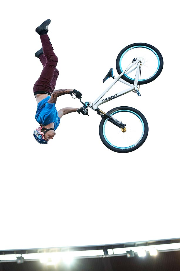 Ethen Roberts performs at the Nitro Circus Live in New Zealand.