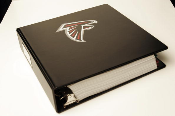 The Falcons playbook is thicker than most college textbooks