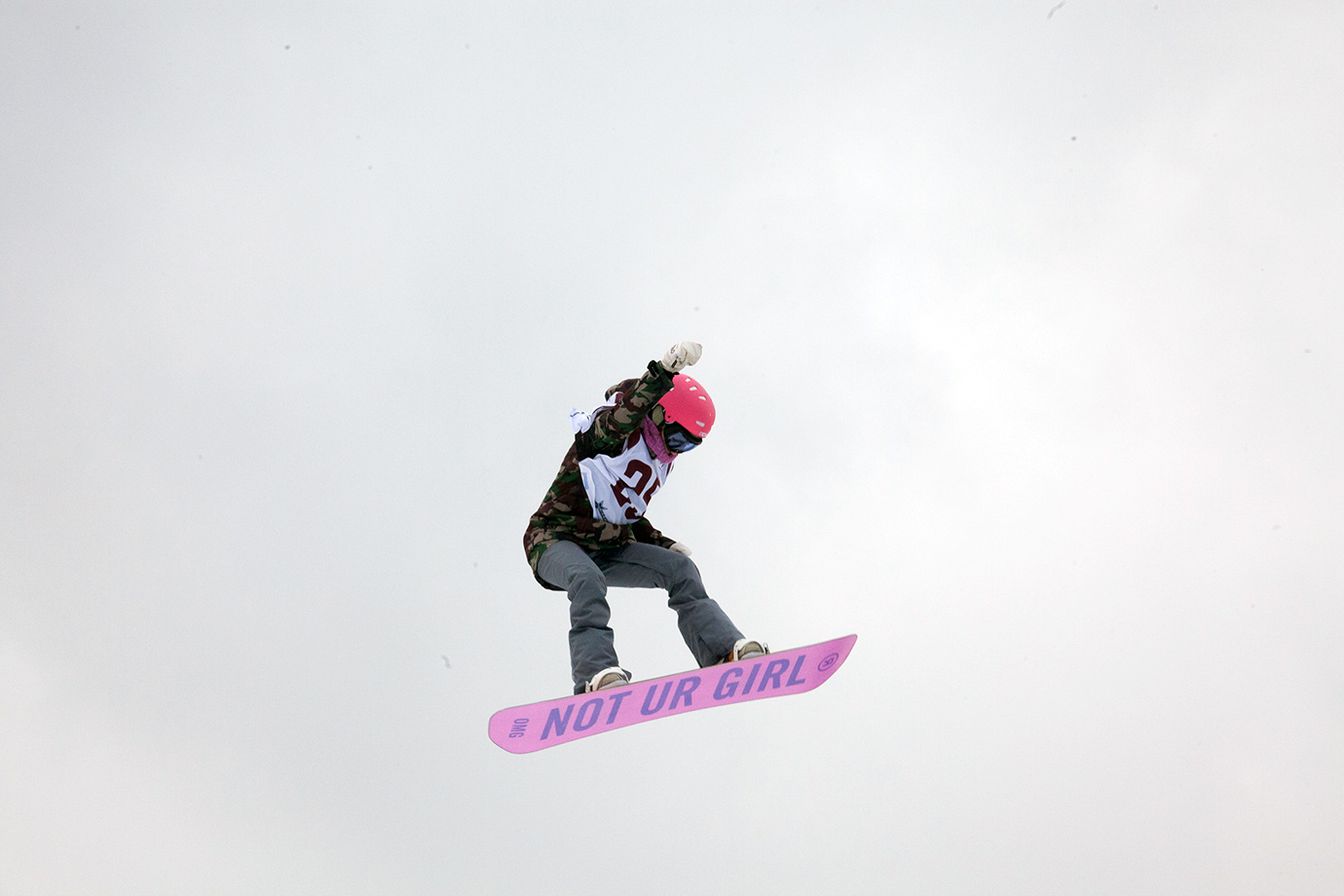 Just like this year's X Games Olso Big Air competition, the Big Air competition at Fenway was open to female snowboarders and skiers. The big air event was added to the women's World Cup and U.S. Grand Prix seasons in 2015.