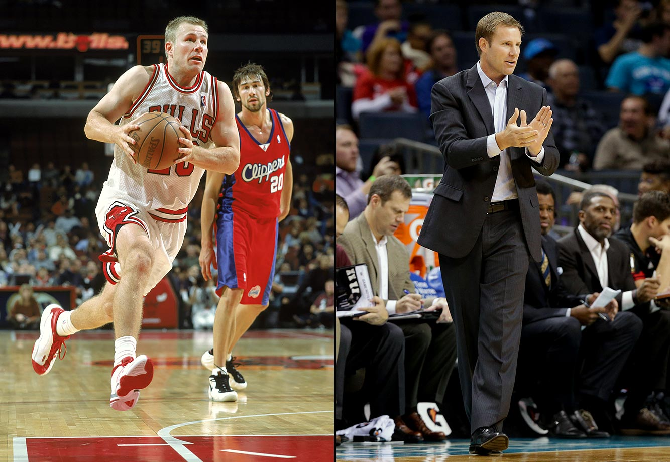 Drafted by the Pacers in the second round of the 1995 NBA Draft, shooting guard Fred Hoiberg played four seasons with Indiana, four with Chicago, and two with Minnesota. On June 2, 2015, the Bulls hired Hoiberg as head coach.