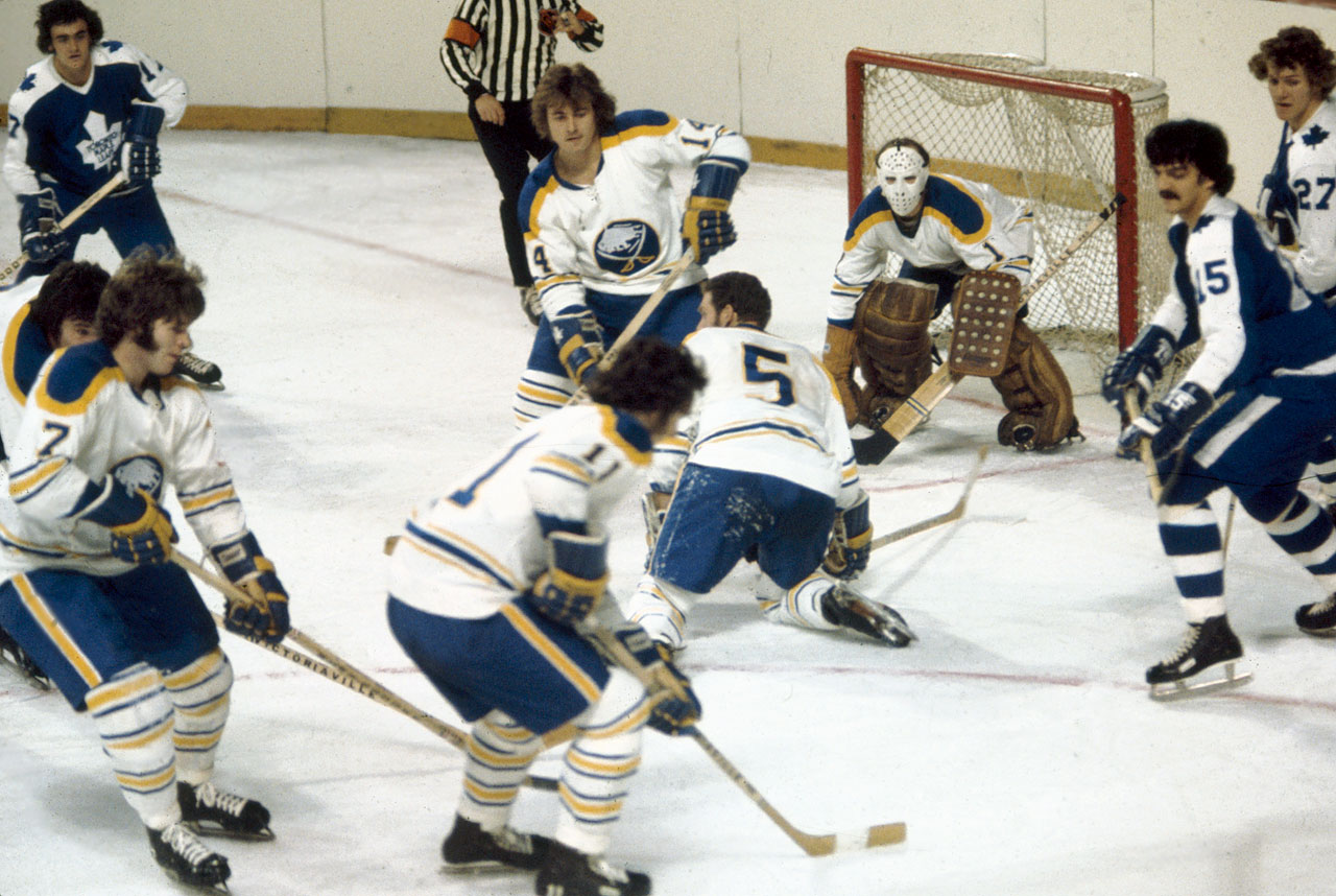 Named for the popular movie and their Gallic flavor, the potent offensive trio of left winger Martin, center Perreault, and right winger Robert skated as a unit from 1972 through '79 and led the Sabres to the 1975 Stanley Cup Final.