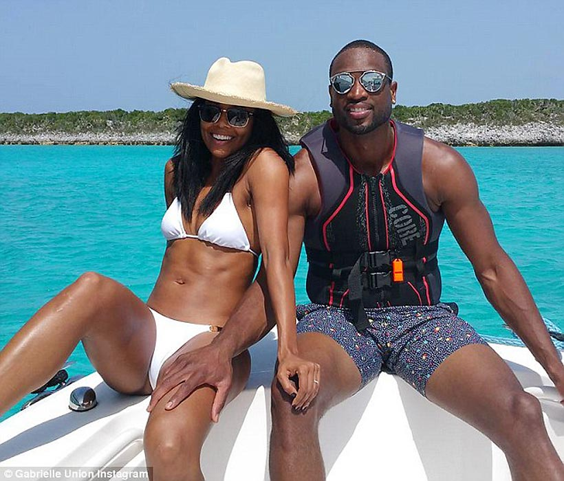 Dwyane Wade and Gabrielle Union showed off their beach bods while on a boat in July 2015. Here are some other instances of sports figures on boats.