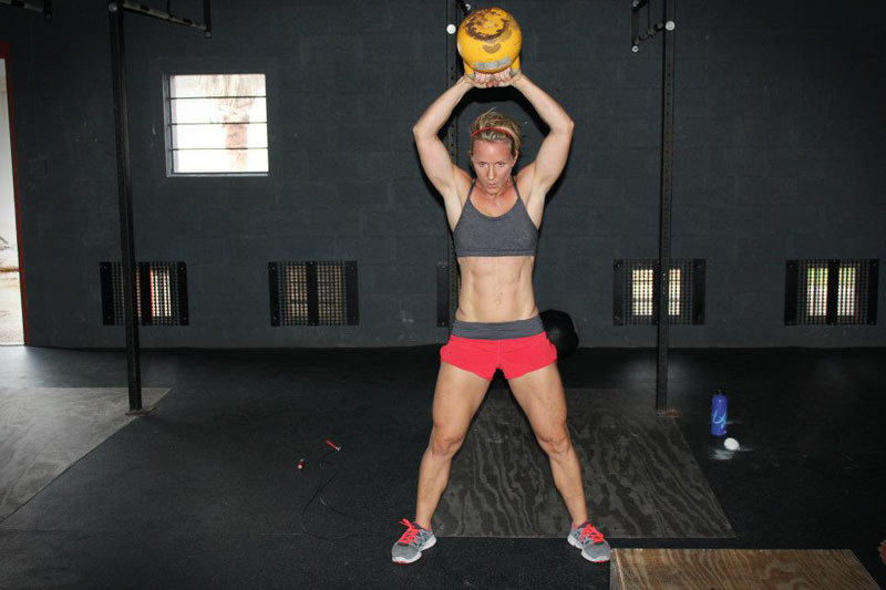 Brenton won the Latin American regionals and is known for doing some CrossFit Moms WOD's when she was pregnant in 2010 and 2011. The 39-year-old owns her own CrossFit affiliate and is from the Cayman Islands.