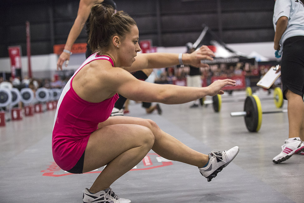Bridgers is a co-owner of a CrossFit gym in Atlanta and a former collegiate gymnast at the University of Georgia. After three years of top-10 finishes at the South East Regional, Emily Bridgers finally qualified for the CrossFit Games this year and is looking to get on the podium.