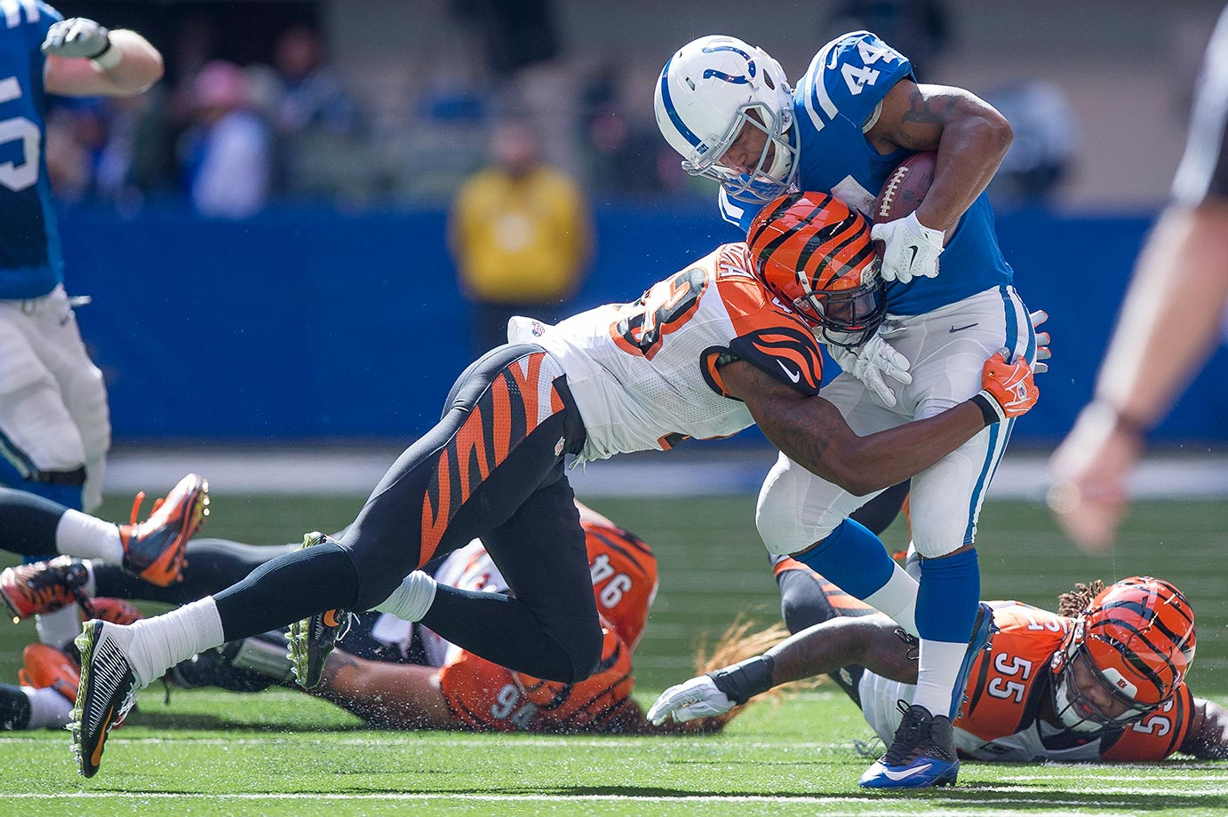 It took the highly athletic Iloka a while to get the hang of the NFL, but there's no doubt that 2014 was his breakout season, especially as a pass defender. According to Pro Football Focus metrics, no safety in the league with over 500 total snaps had a lower passer rating allowed than Iloka's 18.4. He allowed just 12 catches, 176 yards and no touchdowns on 31 targets, with three picks and six passes defensed.