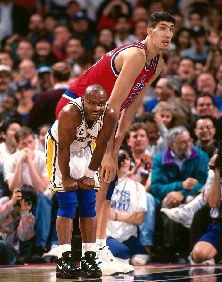 Muresan, like Bol, was a productive center as well as being one of the tallest to ever play the game. He was named the NBA's Most Improved Player in 1996 and played a majority of his career with the Bullets.