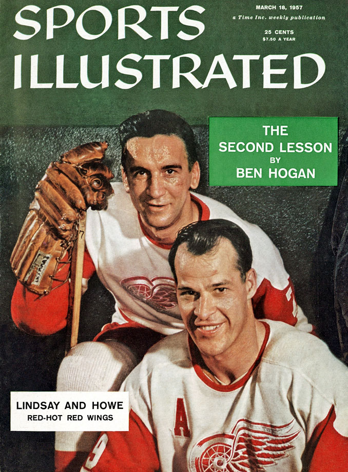 Terrible Ted and Mr. Hockey were bruising mainstays on Detroit's famed Production Line and a lethal combo for 11 seasons, leading the Red Wings to four Stanley Cups (1950, '52, '54, '55). Lindsay, a pugnacious, 5-foot-8, 160-pounder, won the scoring title in 1949-50. The legendary Howe, famous for his ''hat trick'' (a goal, assist and fight in one game) bagged six scoring titles and six Hart Trophies while playing with Lindsay, after whom the NHLPA's MVP Award, formerly the Lester Pearson, is now named.
