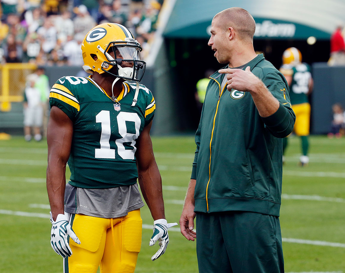 Within about a week, the Packers' high-powered offense suffered greatly as Jordy Nelson hurt his knee and Randall Cobb hurt his shoulder. Nelson's out for the season, and while Cobb should be fine, and Davante Adams is ready to step up, that loss is too big to overcome. Nelson averaged just under 11 touchdown catches per season over the past four years