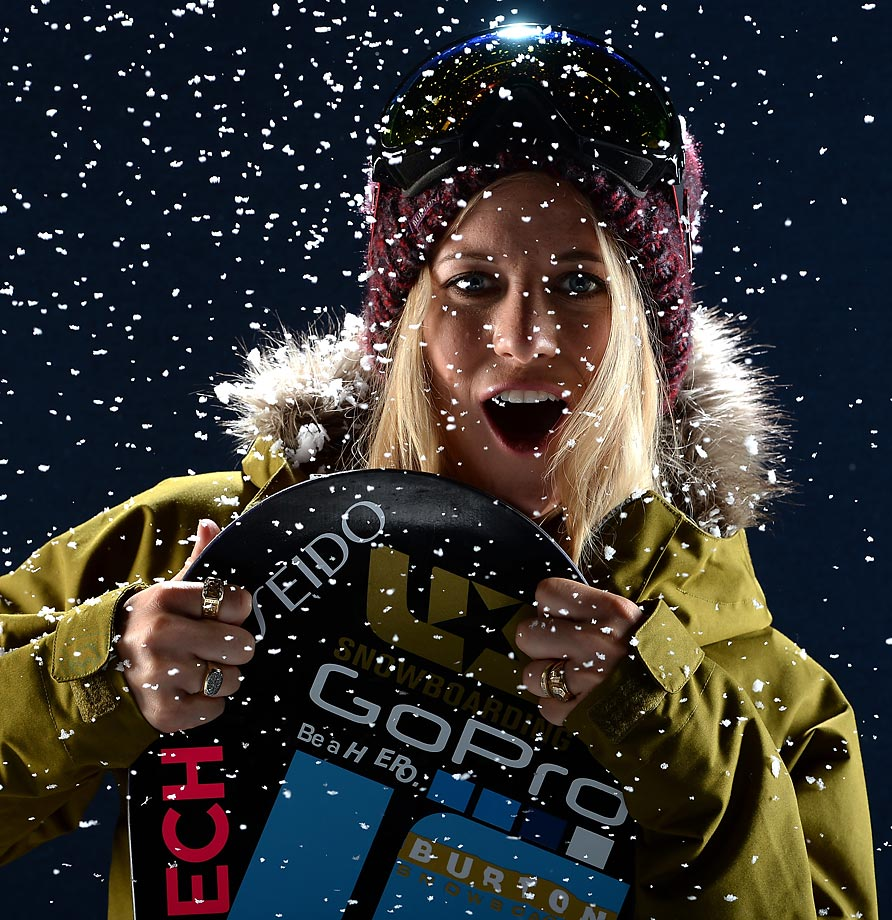 Facebook released their Sochi 2014 top 20 Team USA Athletes to Watch on Facebook. Here is a look at the athletes.                                           No stranger to the podium, Teter won halfpipe gold at Turin in 2006 and silver at Vancouver in 2010. After a successful 2013, she has her eyes on another Olympic medal in Sochi. Hannah Teter's Facebook page.