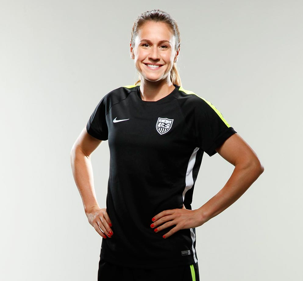 U.S. Women's World Cup team: Midfielder Heather O'Reilly ...