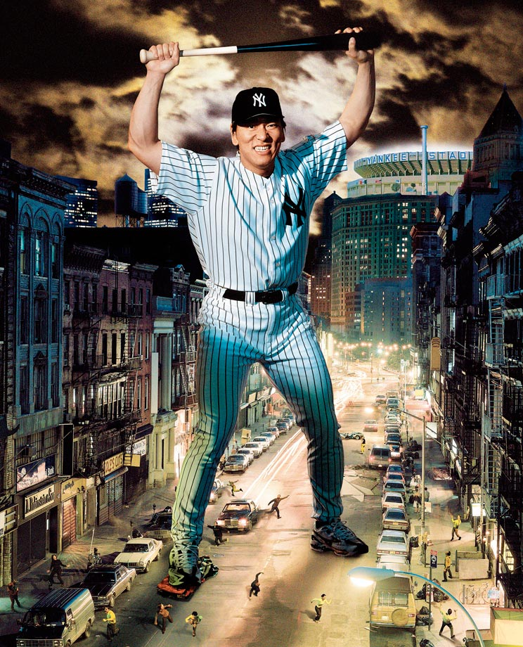 ''Godzilla,'' as he was known in Japan, was an unqualified success after signing a three-year, $21 million deal with the Yankees before the 2003 season. Matsui drove in at least 100 runs each of his first three seasons and was the World Series MVP in 2009, his last year with the Yankees before moving on to the Angels for 2010 and the A's for 2011.