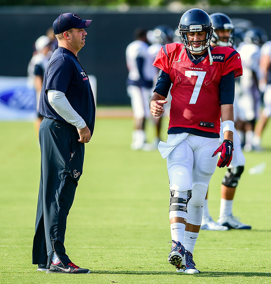 "Head coach Bill O'Brien might act and sound like this generation's Bill Parcells, but he'll have to get these Texans into the playoffs before that can be a serious statement. HBO's ""Hard Knocks"" has given us some great stories to follow, but Brian Hoyer and Alfred Blue aren't what you want to hitch your wagons to offensively."