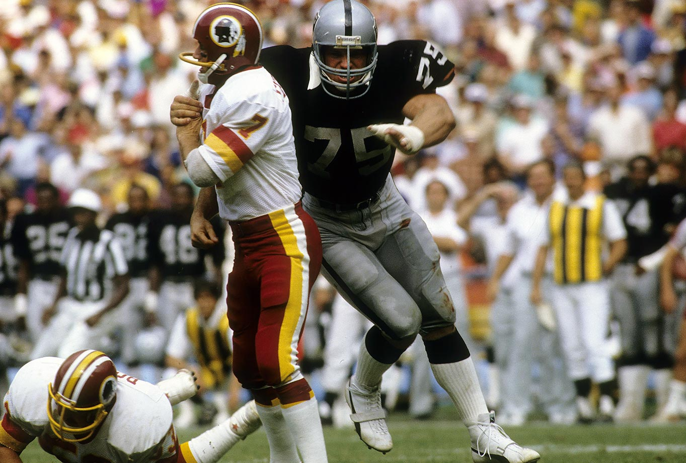 October 2, 1983 — Los Angeles Raiders vs. Washington Redskins
