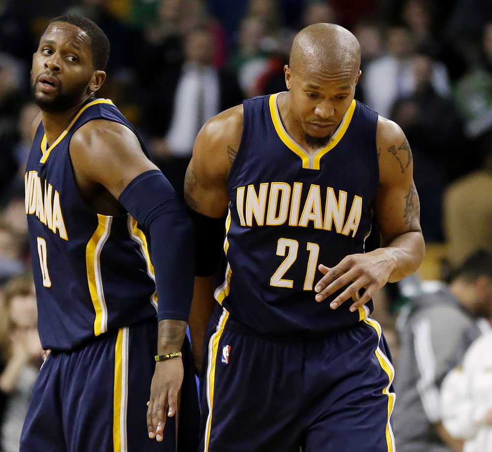 David West would rather have $11 million less than spend another year with this franchise.