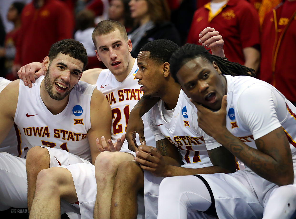 As good as the Cyclones are offensively, your defense has to show up to beat Virginia. The Cavaliers surrendered 70 or fewer points in six of their seven losses this season. Teams simply don't score 80 on Virginia, and that means Iowa State will need its best defensive effort of the season, simply to get to the Elite Eight.