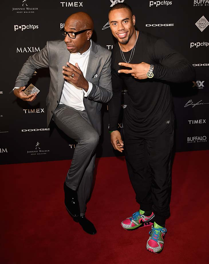 J.B. Smoove and Rashad Jennings