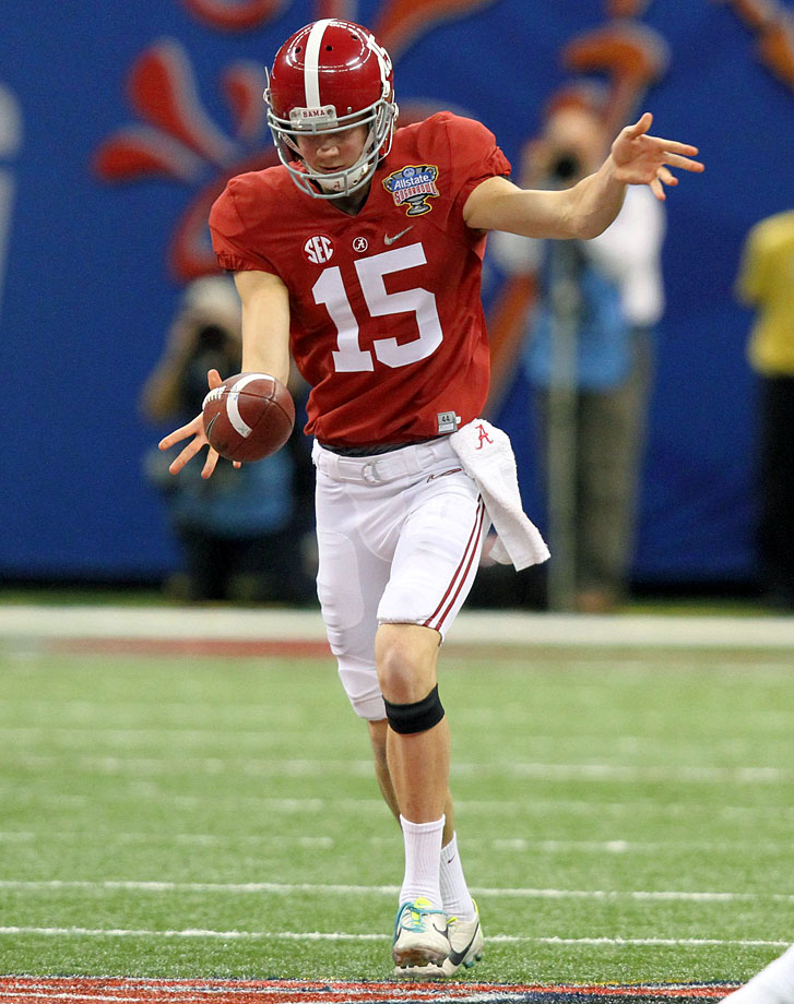 He was arguably Alabama's best player vs. Ohio State, averaging 55 yards per punt with five inside the 20.
