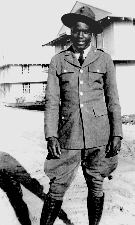 "Five years before breaking Major League Baseball's color barrier in 1947, Robinson was drafted into the Army. Robinson eventually joined the 761st ""Black Panthers"" Tank Battalion. Like his professional baseball career, his military service was marked by incidents of racial discrimination. Robinson was honorably discharged in 1944. Although his 761st battalion was the first black tank unit to see combat, Robinson was never deployed overseas."