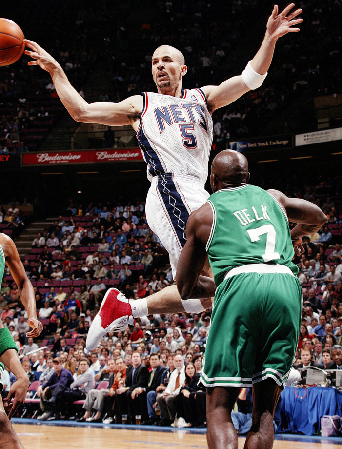 With 12,091 assists in his NBA career, Kidd sits second on that list behind John Stockton. He led the league in assists five times, including a career-best 10.8 per game in the lockout shortened 1998-99 season. Capable of far more than passing, Kidd has also averaged 12.6 points and 6.3 rebounds per game in his career and made five All-Defensive first teams. The 10-time All-Star spent his prime with the Phoenix Suns and the New Jersey Nets, and became head coach of the Brooklyn Nets after his final season as a player.
