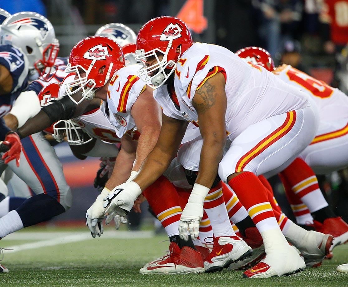 2015 Team: Kansas City Chiefs — 2016 Team: Houston Texans